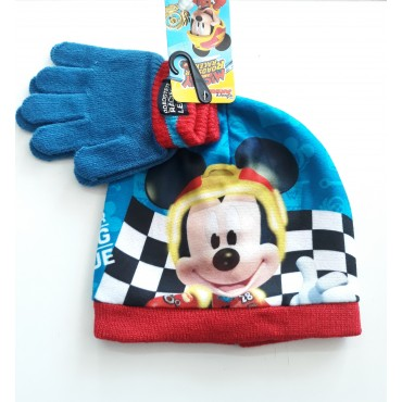 "Шапка и ръкавици "" мики маус"" Disney"