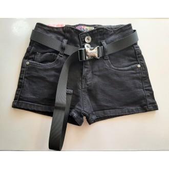 Къси , дънкови панталони с колан